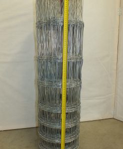 Weidezaun 100 cm hoch, Rollenlänge 50 m verzinkt