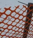 Recycling Kunststoff Pfähle für Schneezaun