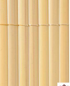 Kunststoff Sichtschutzmatte oval bambus GW