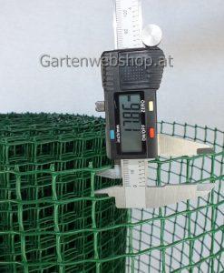 Maschengewebe Kunststoffzaun MW 20mm x 20mm